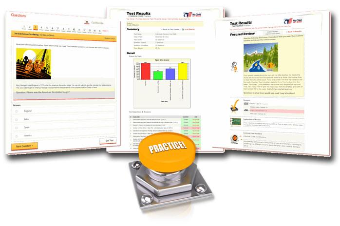 Online Practice Tests & Printable Workbooks