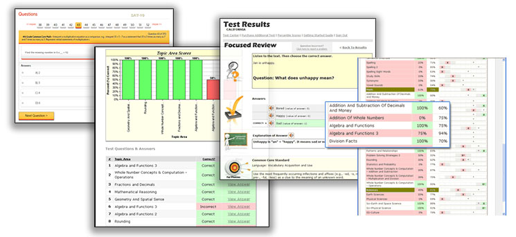 Online Practice Tests & Printable Workbooks